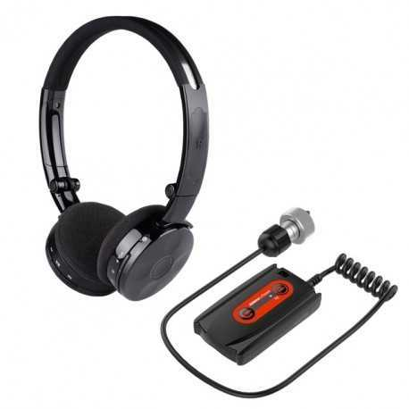 DETEKNIX WIRELESS HEADPHONE KIT WIRE-FREE WA