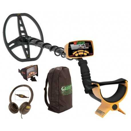 EURO ACE METAL DETECTOR 350 + SCREEN PROTECTOR, HEAD PHONE AND BACKPAC 307,62 €