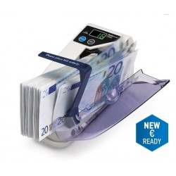 Safescan 2000 battery-operated portable banknote counter