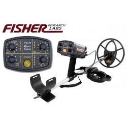 "METAL DETECTOR FISHER CZ 21 10"" DD QUICKSILVER SEARCH METALS UNDERWATER"