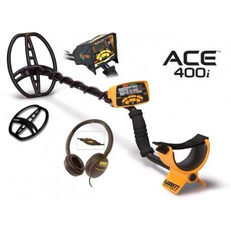 Ace 400i Metal Detector + Accessories + Gift excavation knife 399,00 €