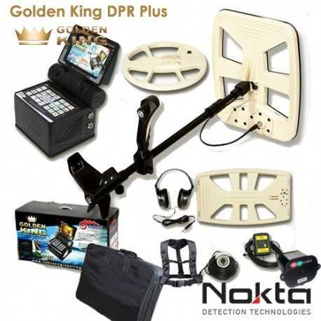 METAL DETECTOR NOKTA GOLDEN KING DPR PLUS