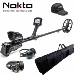 METAL DETECTOR NOKTA IMPACT MULTIFREQUENZA CON CUFFIE RED WIRELESS