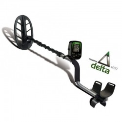 "Teknetics Delta 4000 11"" DD metal detector entry level"
