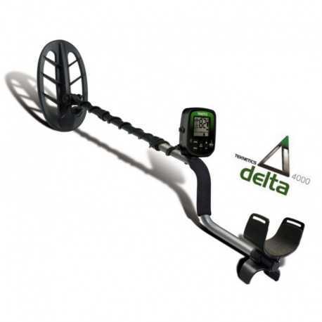"Teknetics Delta 4000 11"" DD metal detector entry level 414,00 €"