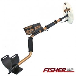 "METAL DETECTOR FISHER GOLD BUG 2 6.5"" ELLIPTICAL LOOKING FOR METALS RINGS GOLD COINS"