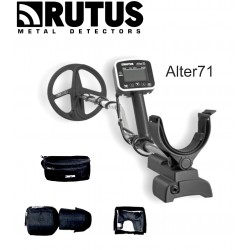 "METAL DETECTOR RUTUS ALTER 71 MULTIFREQUENZA 11"" DD"