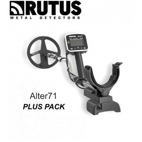 """METAL DETECTOR RUTUS ALTER 71 PLUS PACK MULTIFREQUENCY 11 """"DD 725,00 €"""