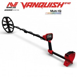 METAL DETECTOR MINELAB VANQUISH 540 PRO PACK MULTI-IQ MULTI SIMULTANEOUS FREQUENCY 539,00 €