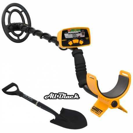 METAL DETECTOR GARRETT ACE 200I SUMMER PACK + MICRO PALA ALL BLACK199,00 €