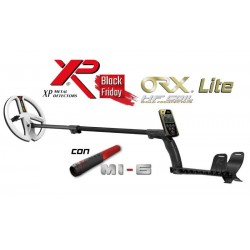 METAL DETECTOR XPLORER LITE ORX HF22 RC + MI-6 BLACK FRIDAY