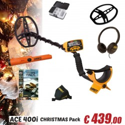 GARRETT 400i PROMO CHRISTMAS PACK + PRO-POINTER AT + KEEPERS FIND BOX 439,00 €