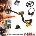 GARRETT 400i PROMO CHRISTMAS PACK + PRO-POINTER AT + KEEPERS FIND BOX