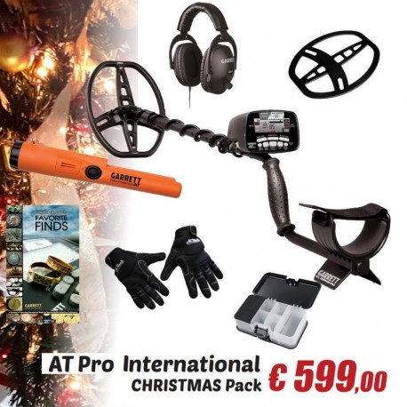 GARRETT AT PRO INT PROMO CHRISTMAS PACK CON PRO-POINTER AT + GUANTI ALL BLACK599,00 €