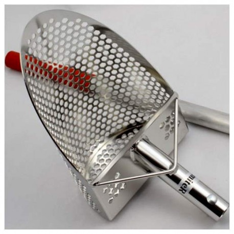 HIGH QUALITY EMITER SAND SCOOP S200 PROFESSIONAL PERFORATED SHOVEL 304 STEEL 2 MM 99,00 €