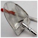 HIGH QUALITY EMITER SAND SCOOP S200 PROFESSIONAL PERFORATED SHOVEL 304 STEEL 2 MM