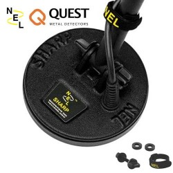 """SEARCH PLATE IN SHARP 5 """"DD (127 MM) WITH PLATE SAFETY FOR QUEST Q20 Q40 X5 X10"""