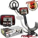 METAL DETECTOR FISHER F11 SEARCH METALS GOLD RINGS COINS