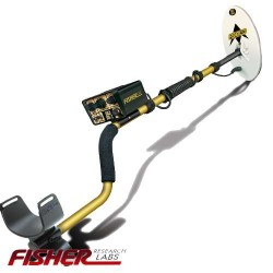 """METAL DETECTOR FISHER GOLD BUG 2 6.5 """"FIND METALS GOLD RINGS COINS"""