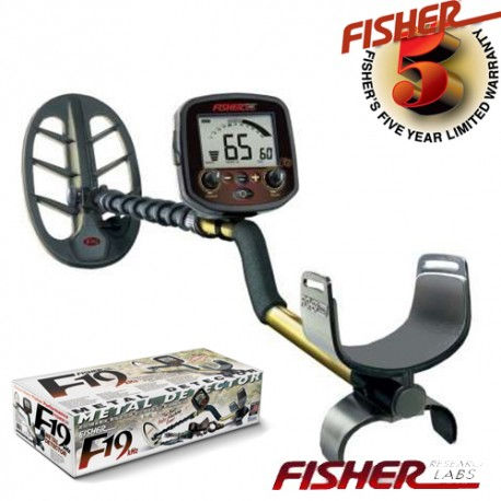 """METAL DETECTOR FISHER F19 11 """" DD FIND METALS BEACH AND BATTLE 550,00 €"""