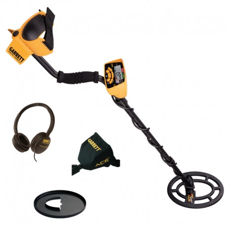 ACE 300i Metal Detector + screen protector, Head phone and coil cover 299,00 €
