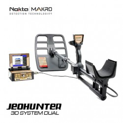 JEOHUNTER VLF 3D Metal Detector with universal coil