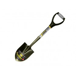 SPADEL OR EXCAVATION SHOVEL ROUGHNECK MADE UK TEMPERED STEEL