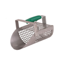 Perforated sieve scoop for sand Steel